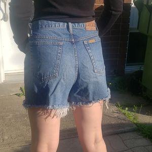 Vintage high waisted shorts
